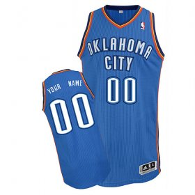 Oklahoma City Thunder Custom Letter And Number Kits For Road Jersey